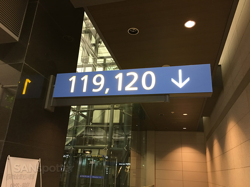 ICN gate 119 and 120