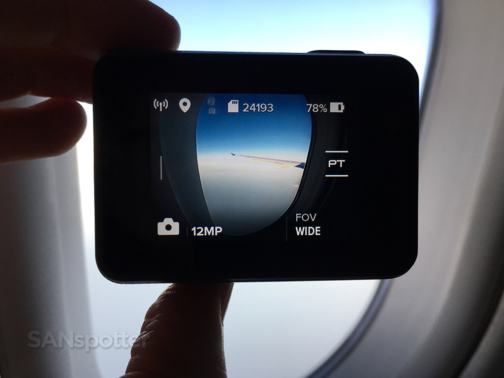 GoPro Hero 5 LCD screen