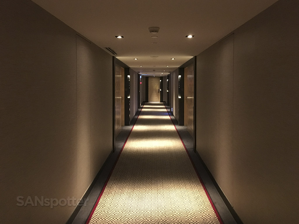 Interior hallway Grand Hyatt Taipei
