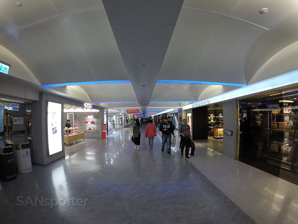 TPE airport interior