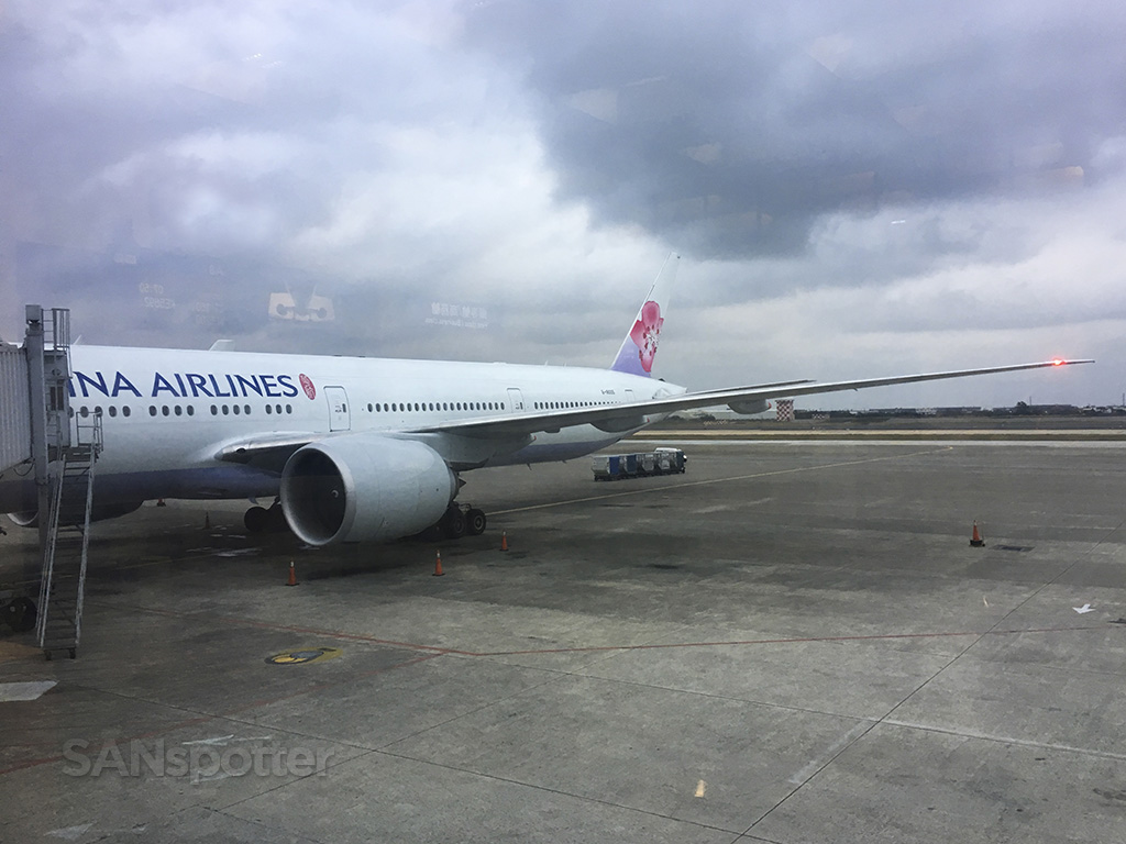 China Airlines 777-300