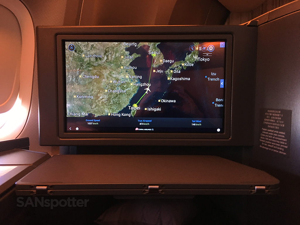 flying to south korea