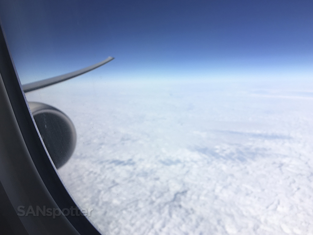 china airlines 777-300 in flight