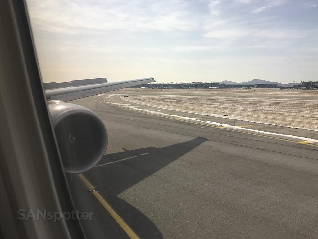 landing at ICN