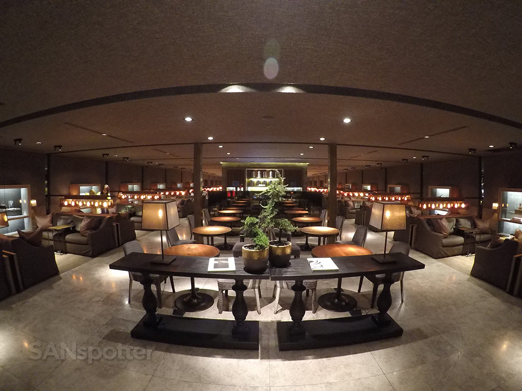 China Airlines Business Class lounge TPE interior