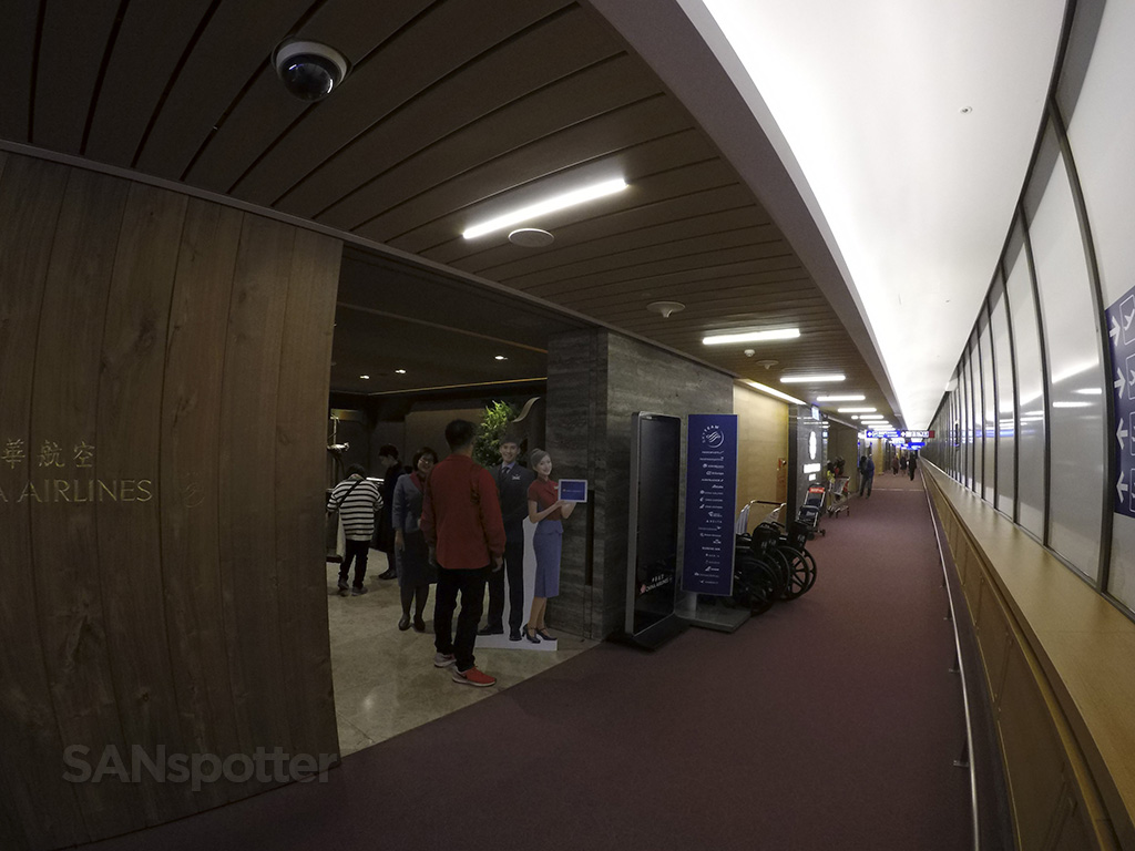China Airlines Business Class lounge TPE