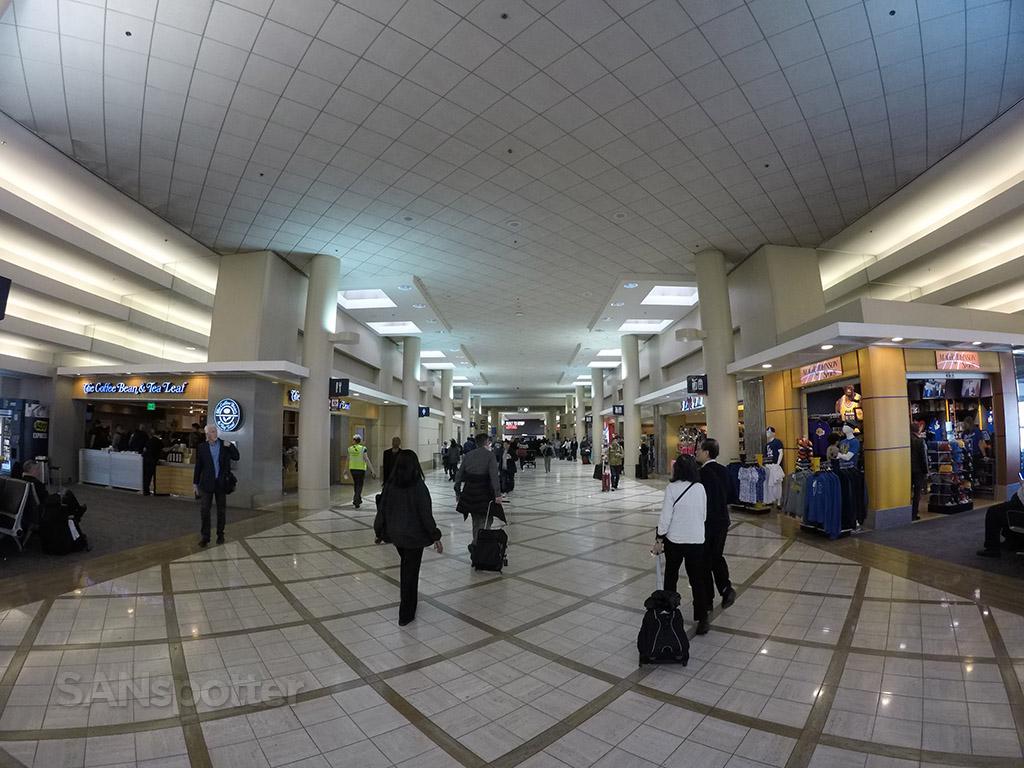terminal 5 LAX interior