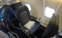 delta CRJ-700 first class single seat