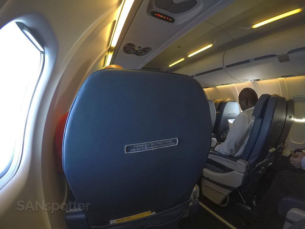 CRJ-700 first class cabin