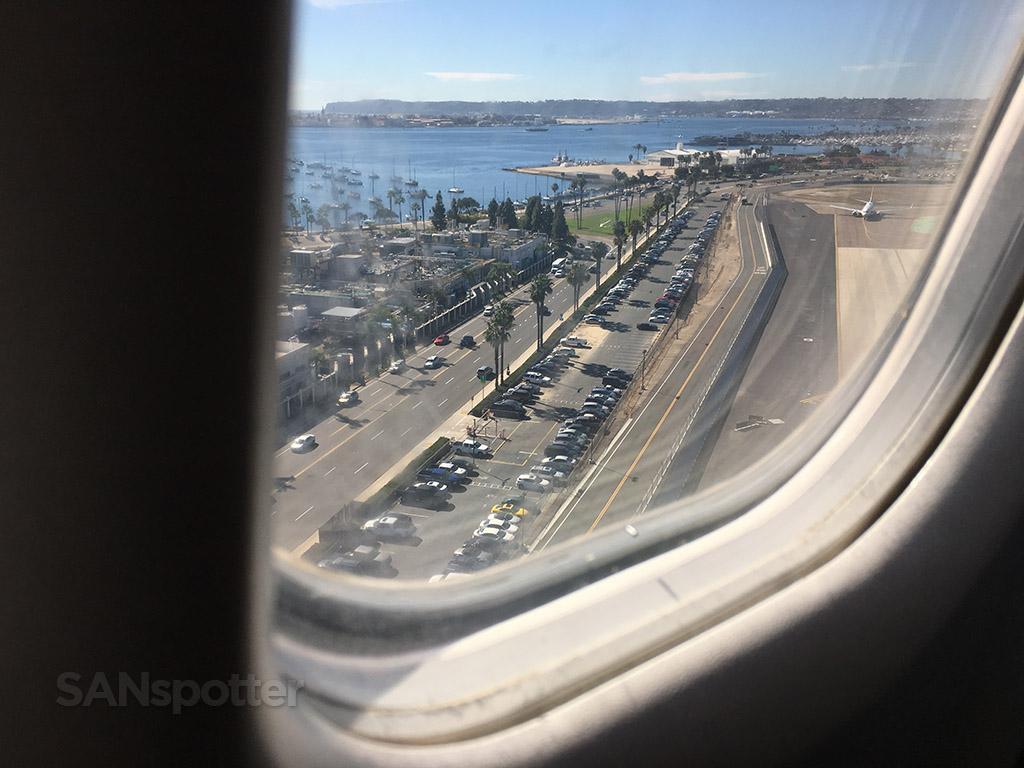 SAN airport approach