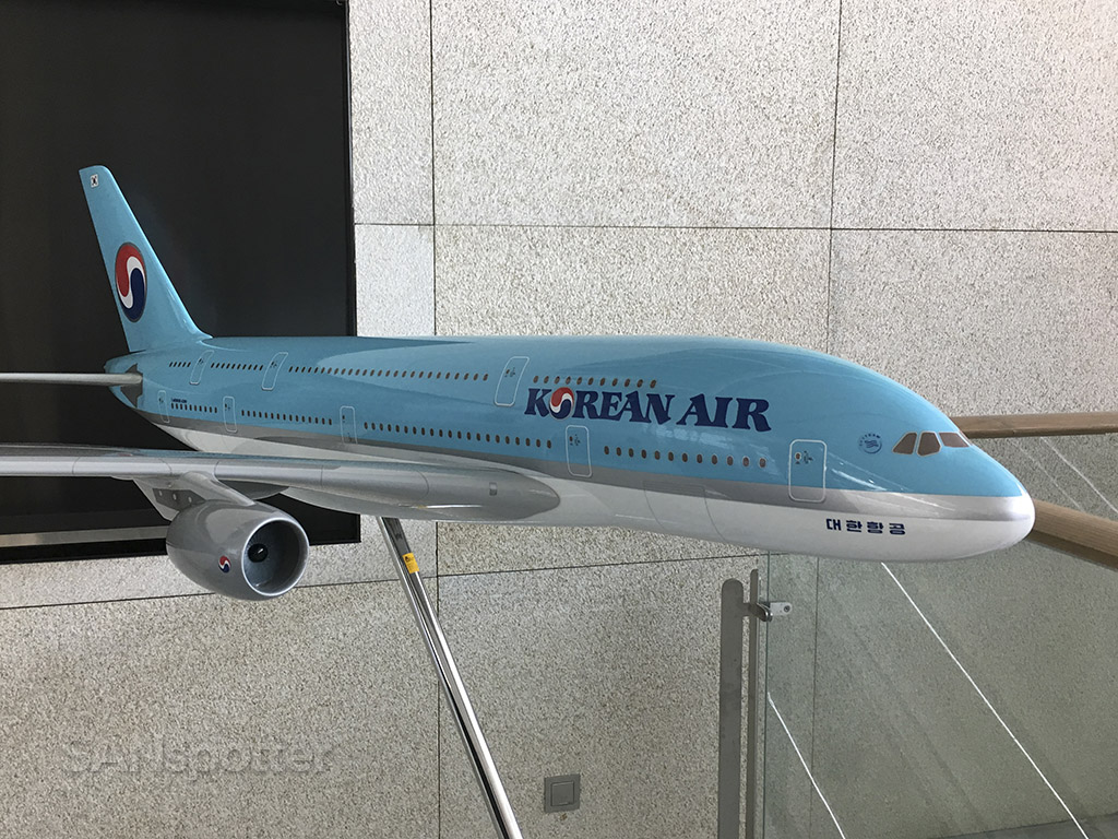 korean air A380 model