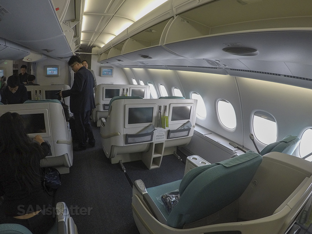 korean air a380 prestige class