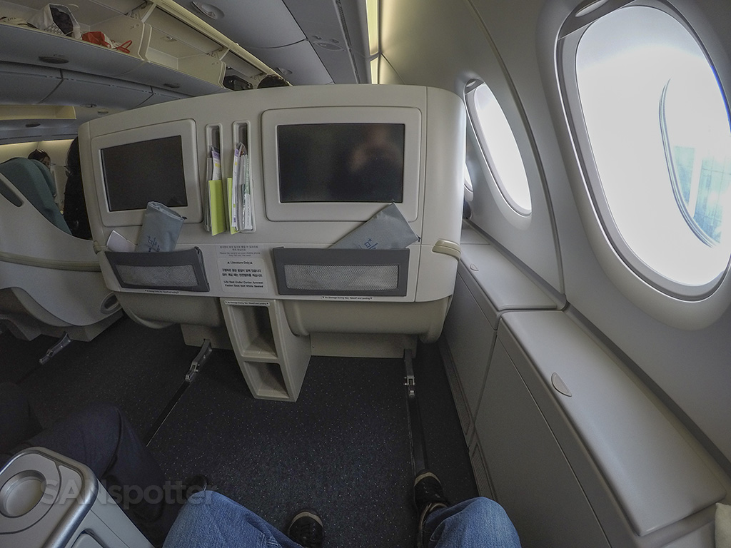 korean air prestige class seats
