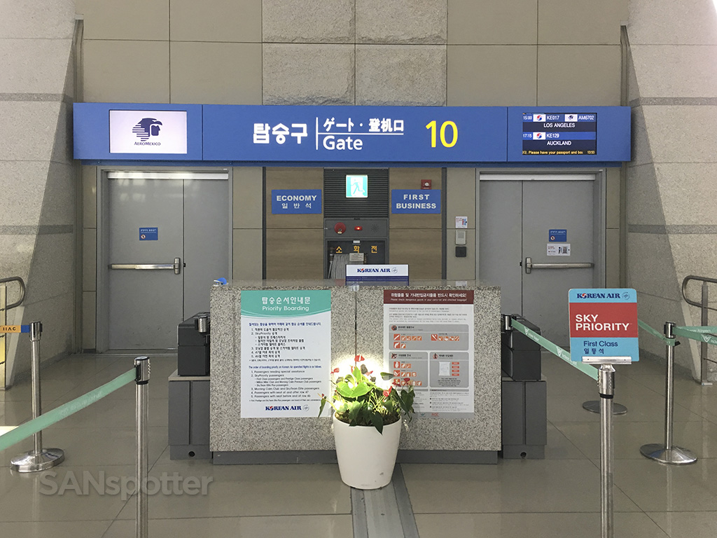 gate 10 ICN airport