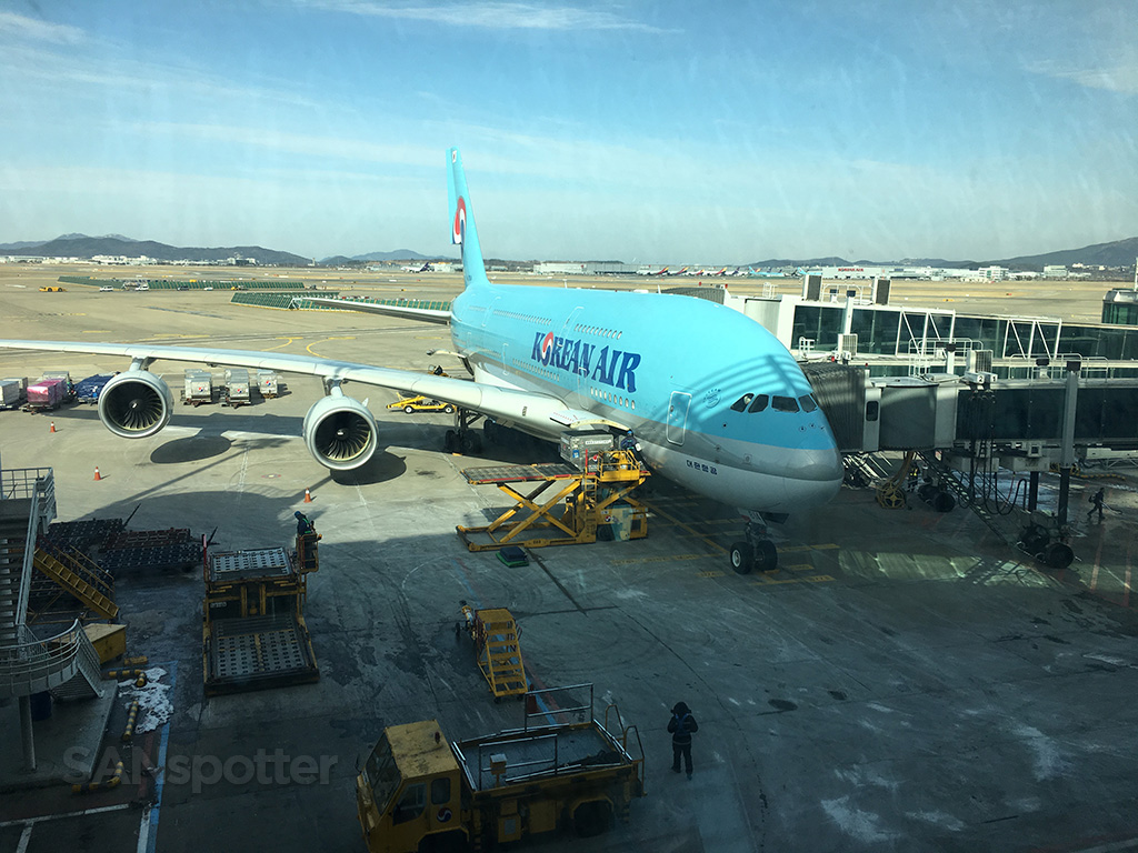 Korean Air A380 HL7614