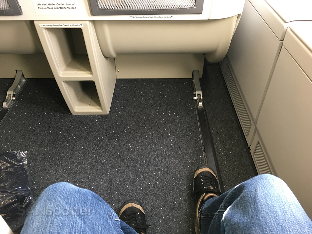 Korean Air A380 business seat pitch
