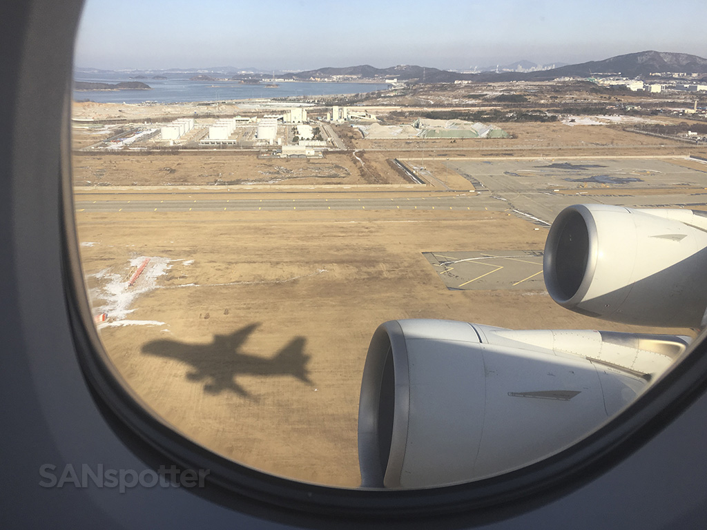 korean air a380 shadow