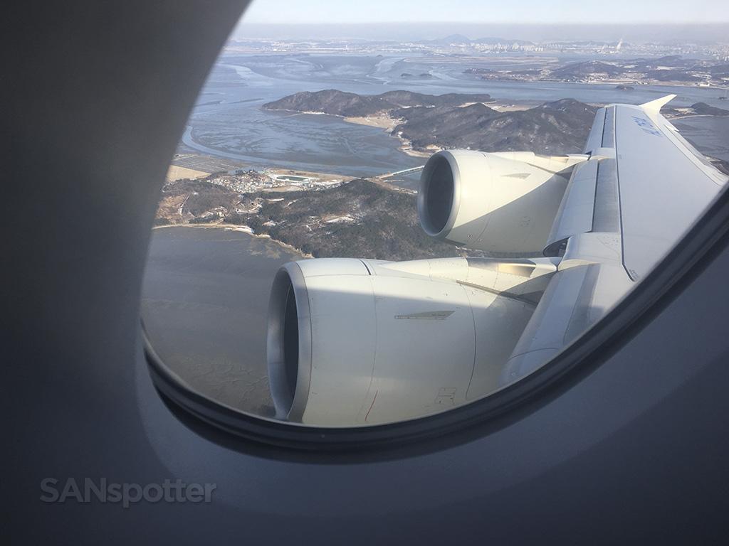 korean air a380 takeoff incheon