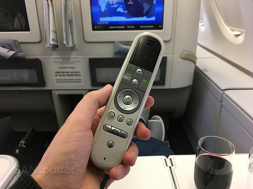 korean air business class entertainment