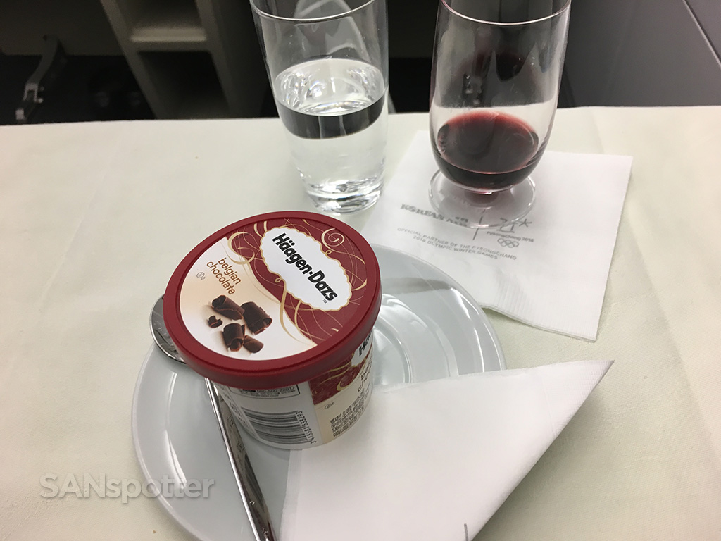 korean air ice cream