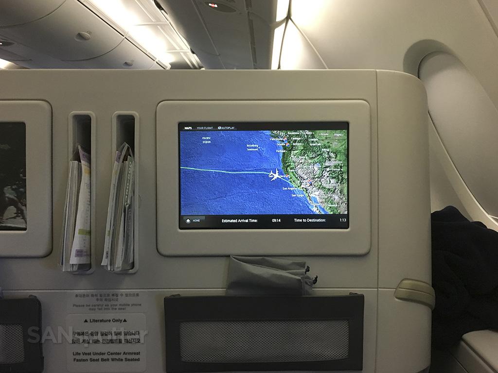 Korean air a380 interior