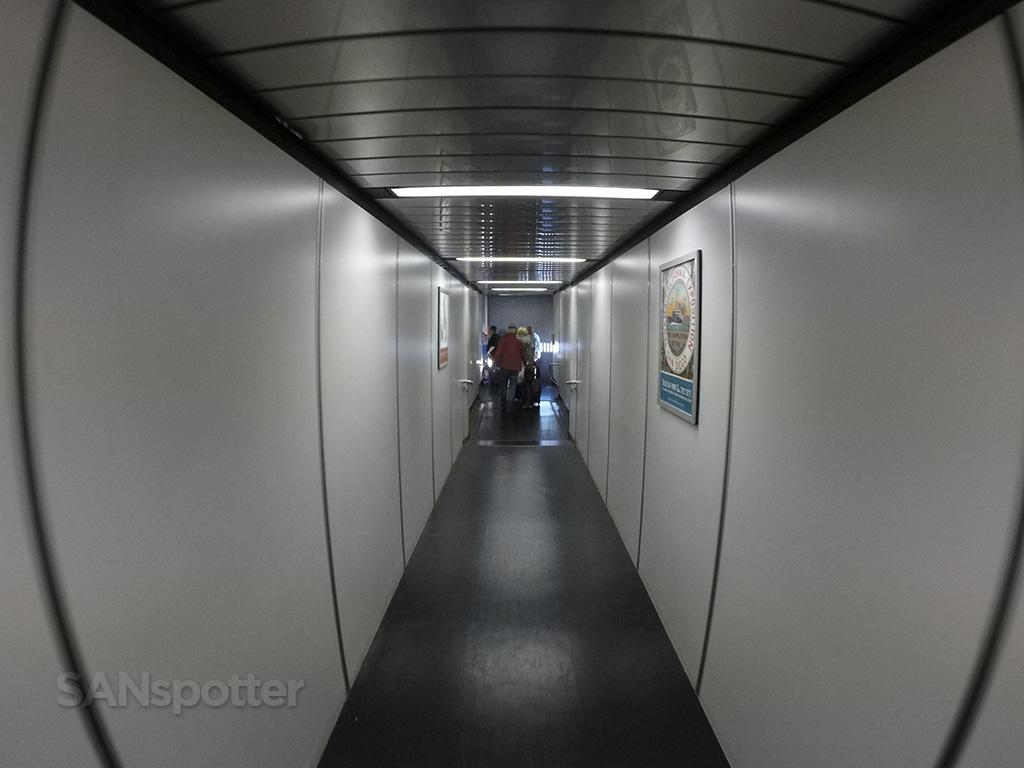 SAN terminal 1 jet bridge