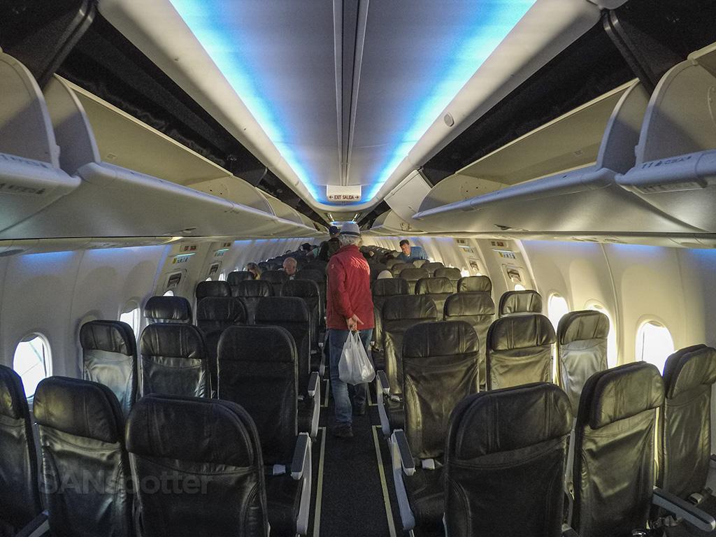 Alaska Airlines 737-800 interior