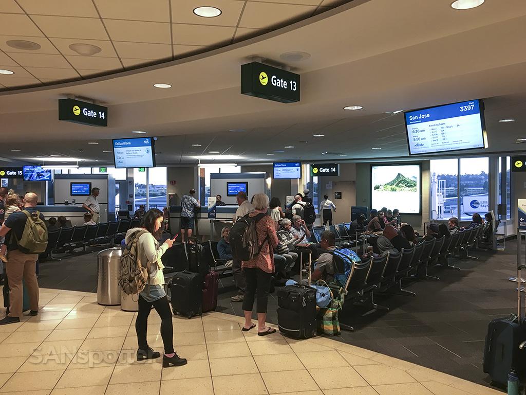terminal 1 gates San diego airport