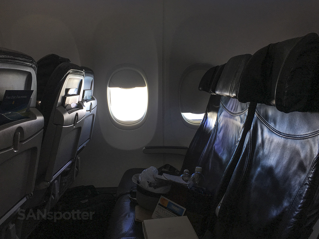 Alaska Airlines 737-800 window seats