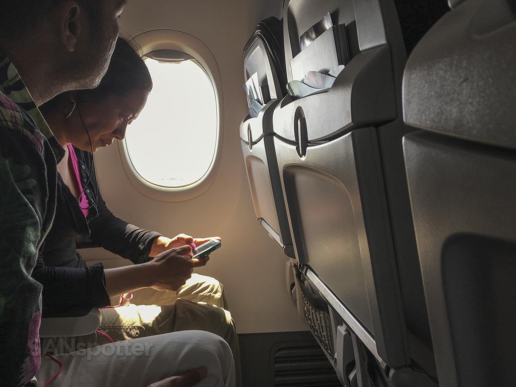 Alaska Airlines 737-800 seats
