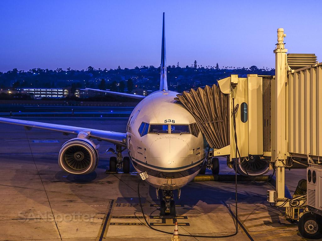 Alaska airlines 737-890 N538AS SAN