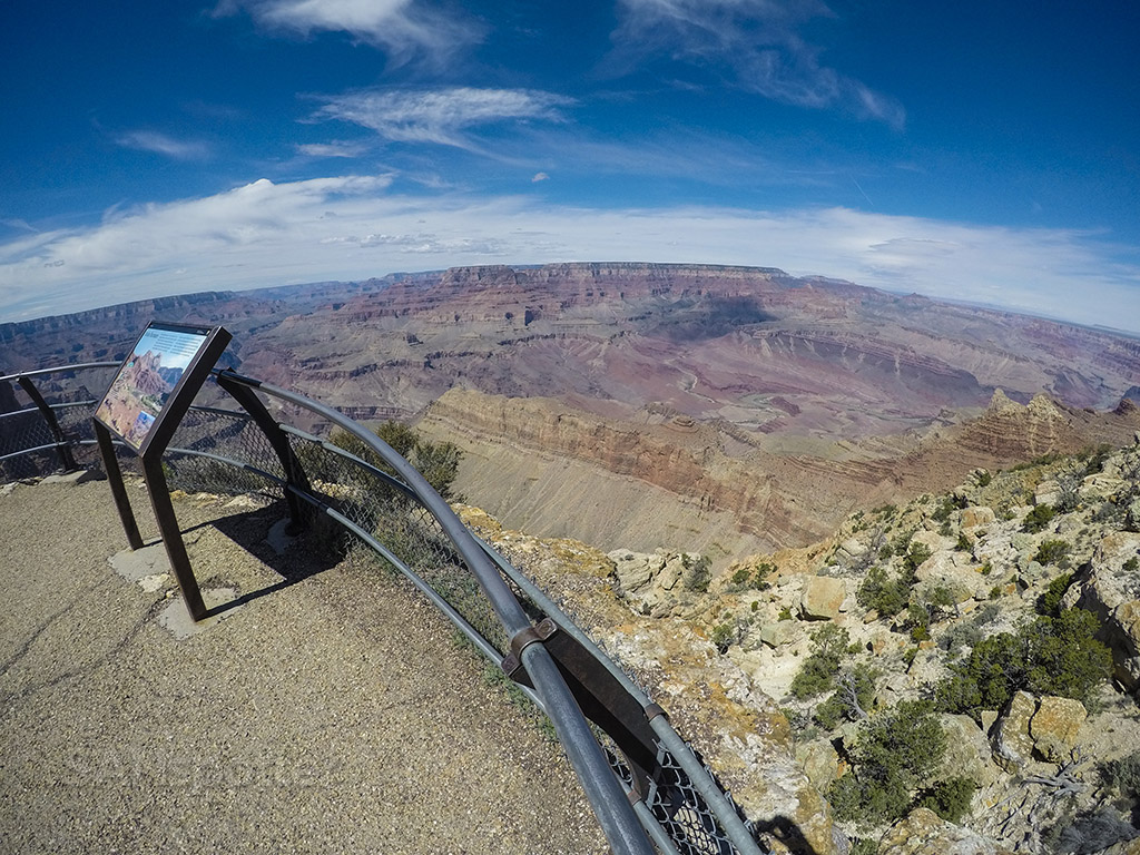 grand canyon wide angle pic
