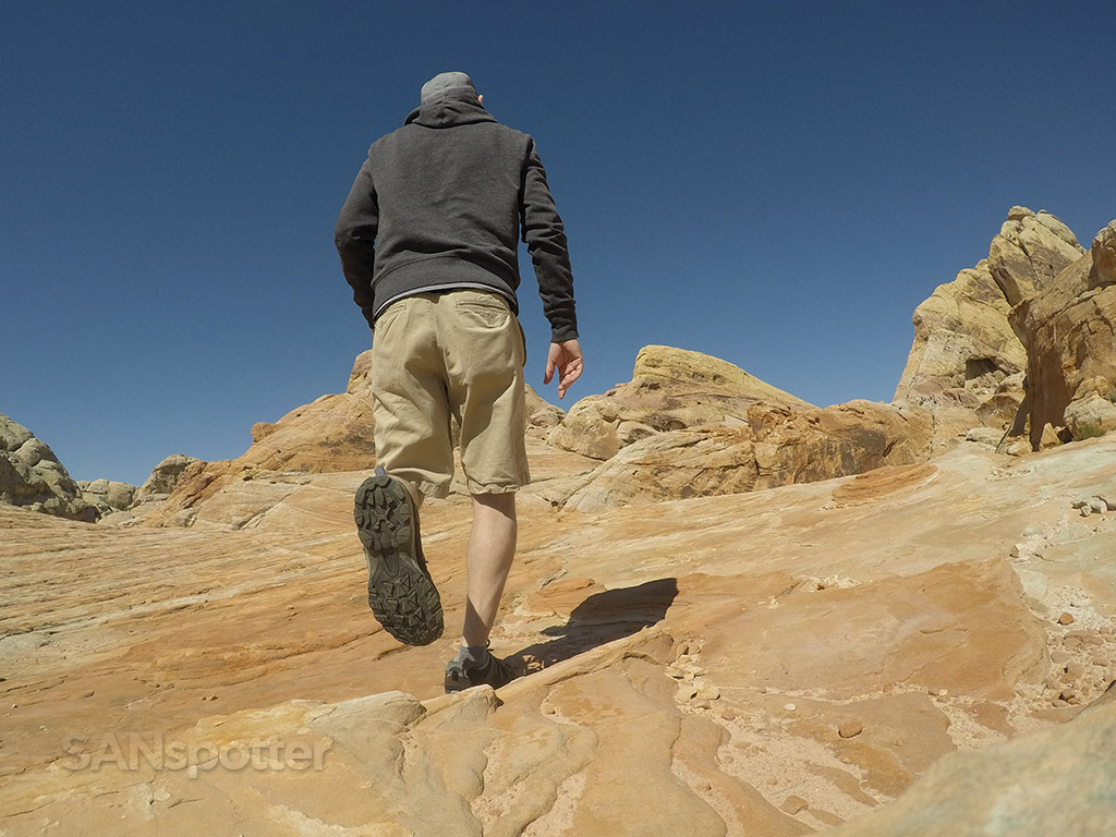 sanspotter selfie valley of fire