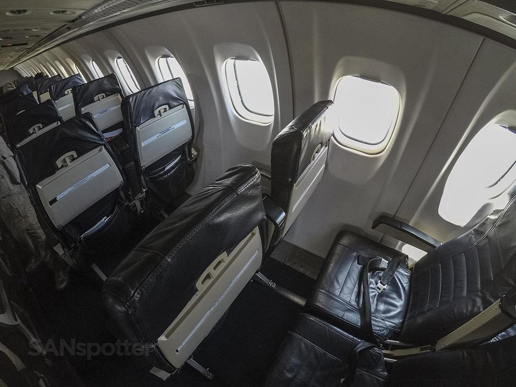 island air ATR 72 cabin pic