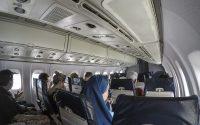 island air ATR 72 cabin pic wide angle