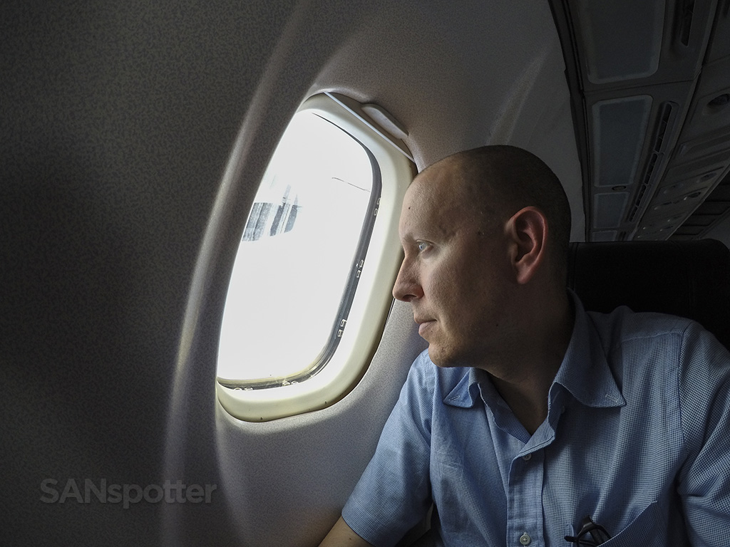 SANspotter selfie island air ATR 72