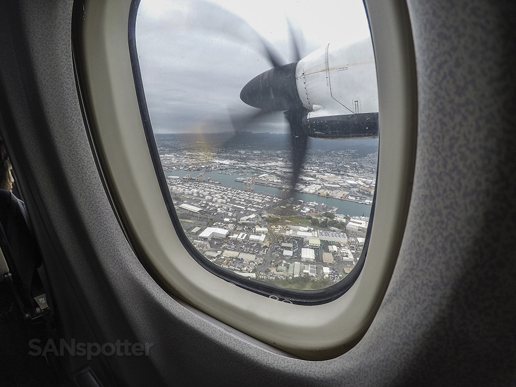 HNL approach Island Air ATR 72