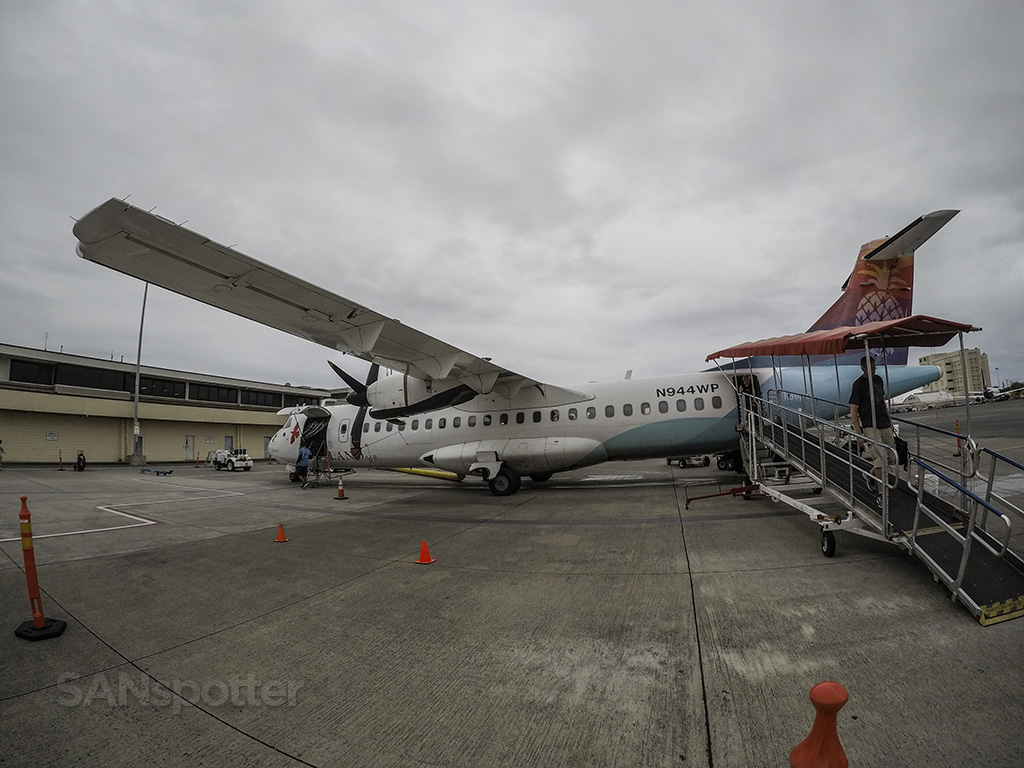 island air ATR 72 HNL walk around
