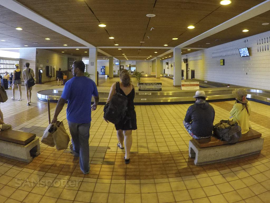HNL inter island baggage claim