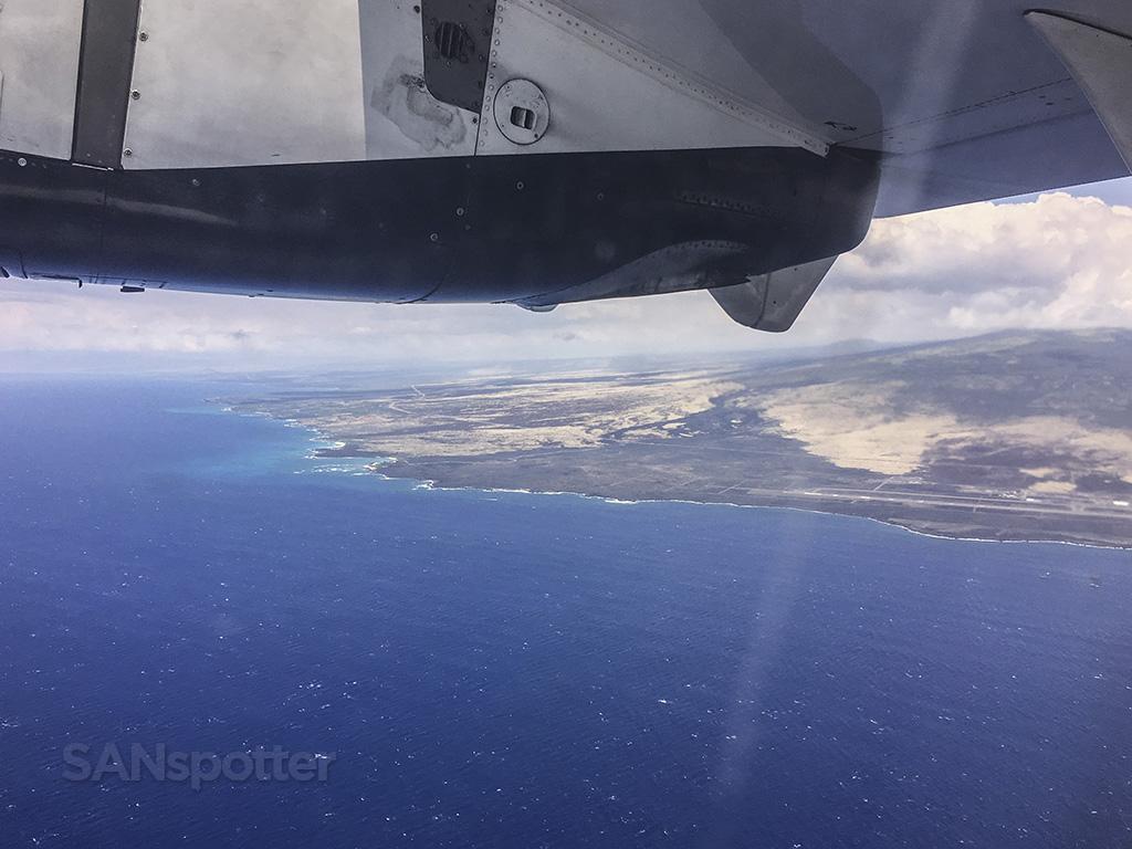 departing kona airport hawaii