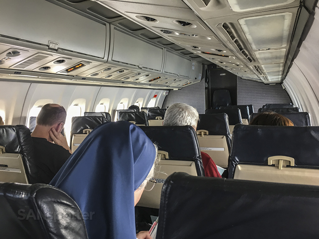 island air ATR 72 cabin in flight