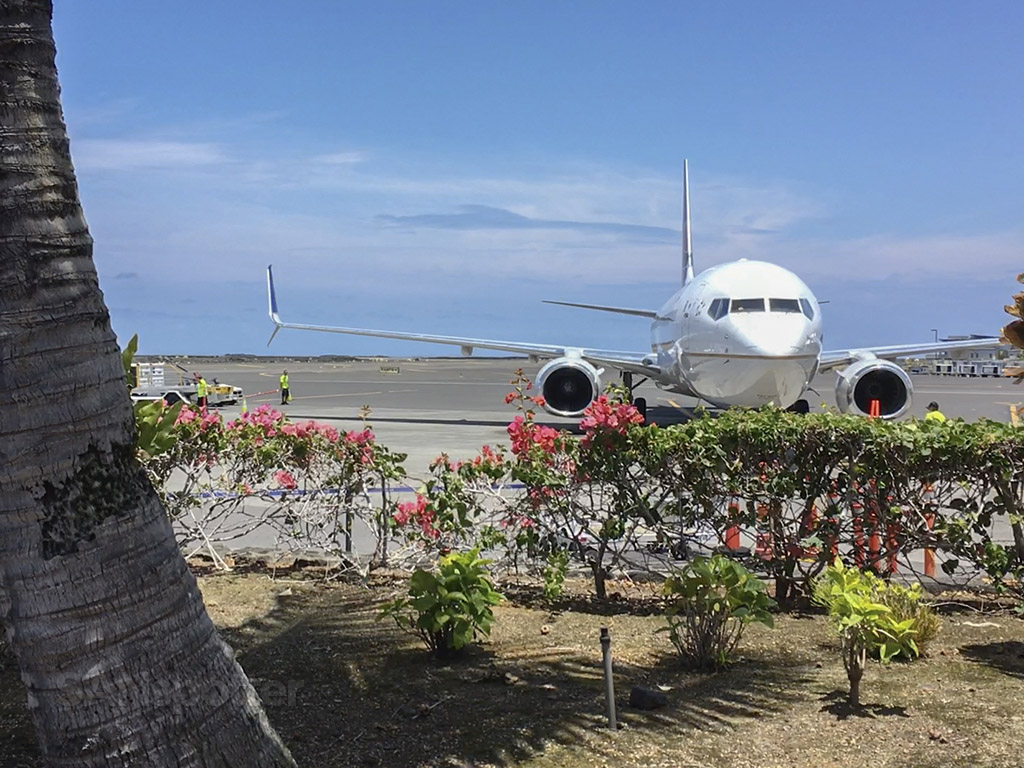 kona airport spotting