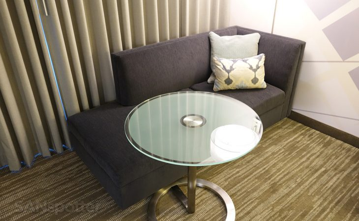 stylish airport marriott SFO furniture