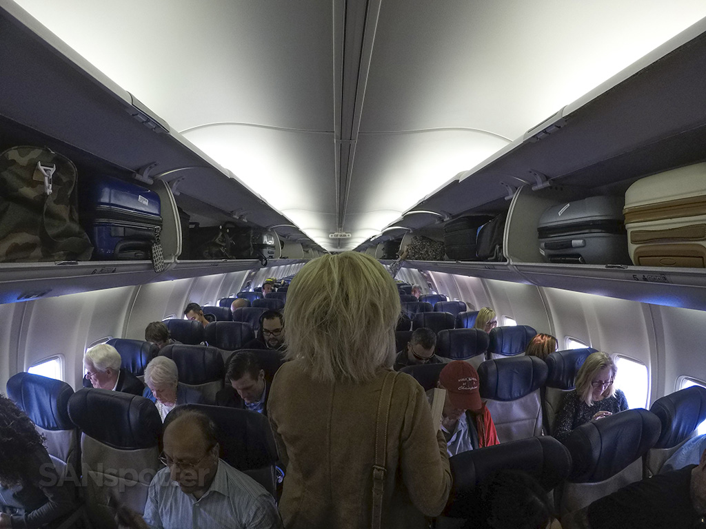 Southwest Airlines 737-700 interior