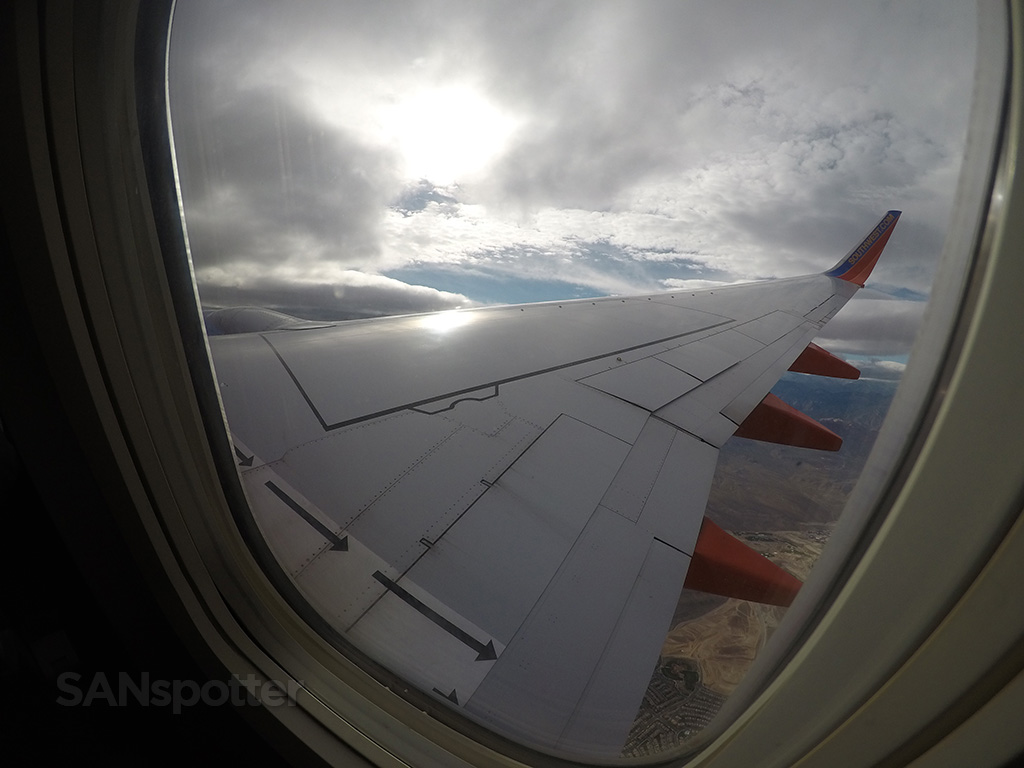 southwest airlines 737-700 climb