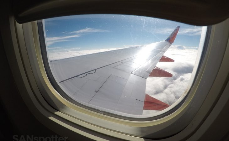 southwest airlines 737-700 window