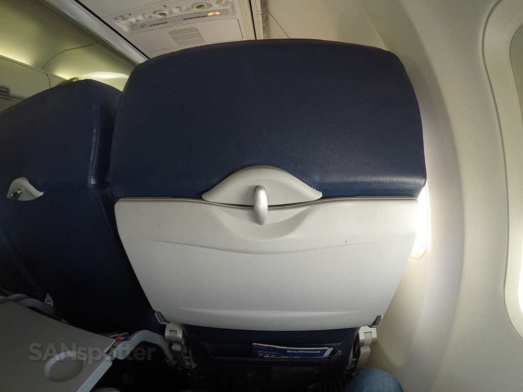 southwest airlines seat back