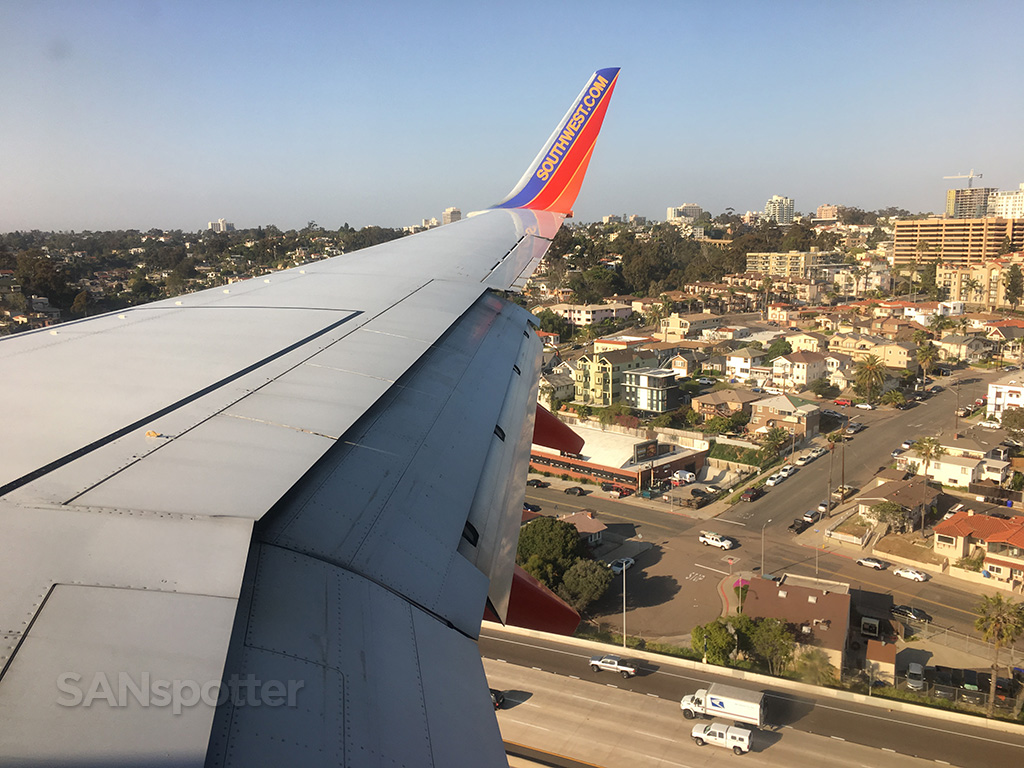 san diego southwest airlines arrival