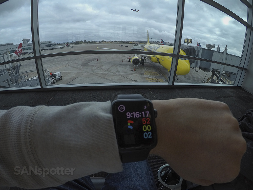 apple watch SAN airport