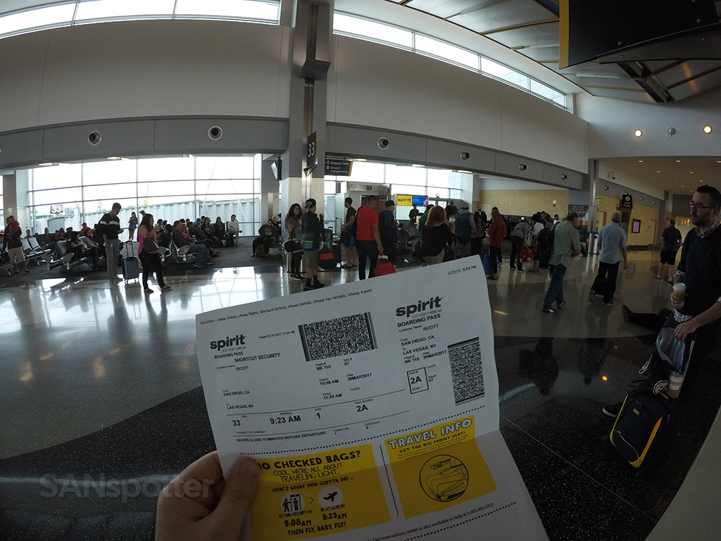 spirit airlines boarding pass